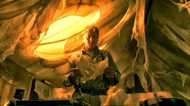 Merrin (Stellan Skarsgard) in Exorcist: The Beginning.