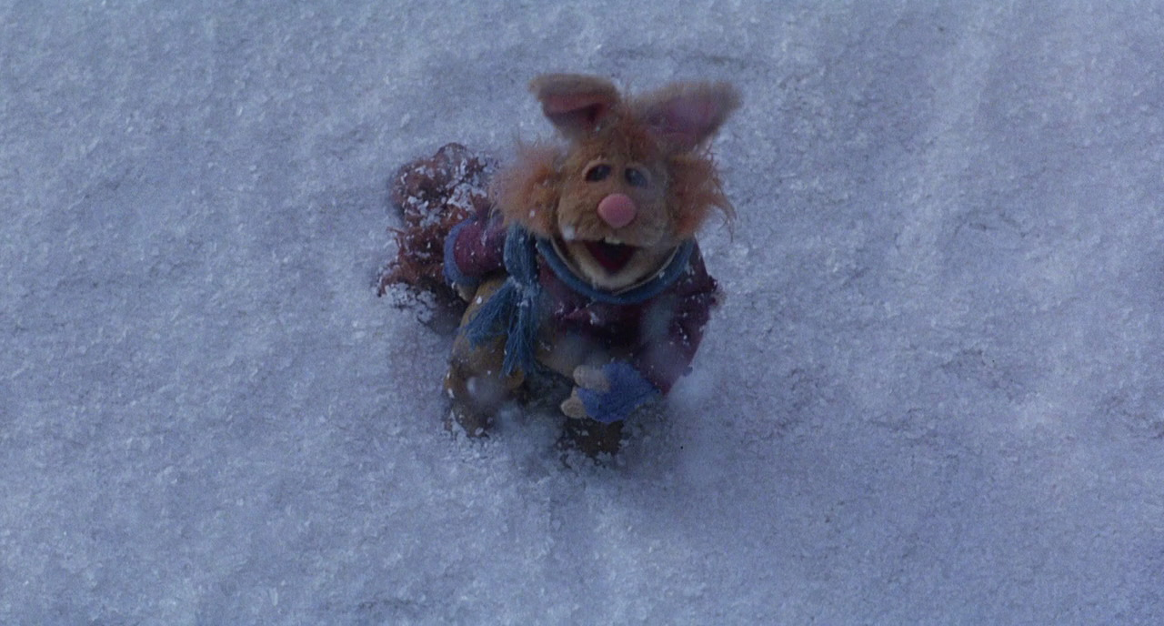 Muppet Christmas Carol Ghosts.A Fuzzy Blue Charles Dickens The Muppet Christmas Carol