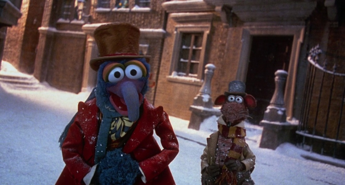 Muppet Christmas.A Fuzzy Blue Charles Dickens The Muppet Christmas Carol