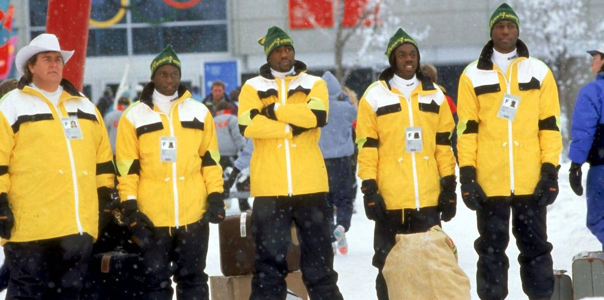 Jamaican Bobsled Team Jacket Cool Runnings Irv Blitzer John Candy 1988 Olympics